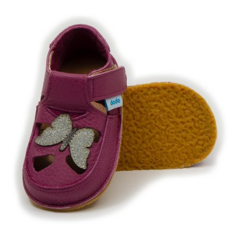 Sandales Dodo Shoes Violette & Papillon