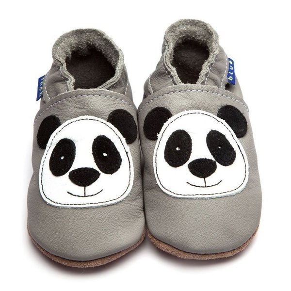 Chaussons / chaussures Inch Blue Gripz Panda Grey