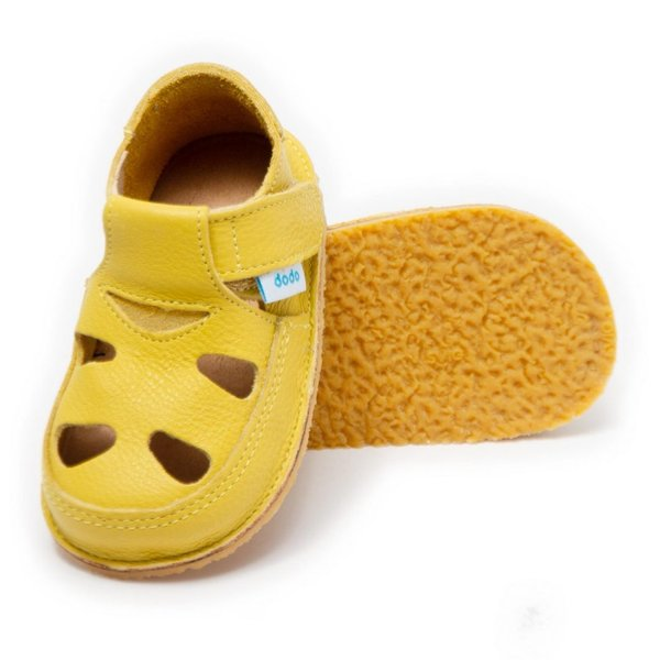 Sandales Dodo Shoes Jaune