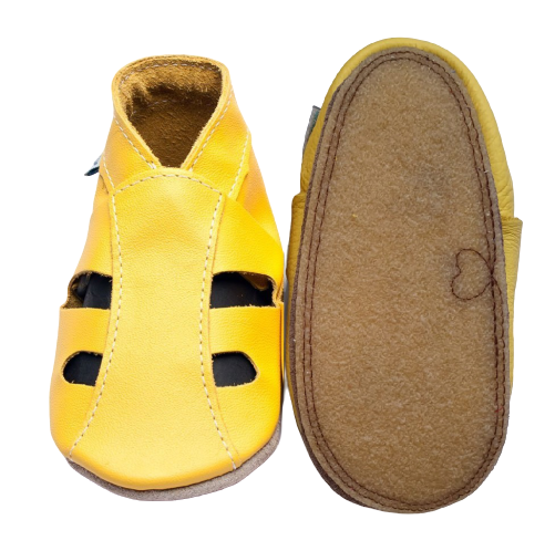 Sandales Chaussons / chaussures Inch Blue Gripz Jaune