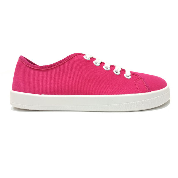 Baskets Anatomic barefoot All in A10 Rose fuchsia / semelle blanche