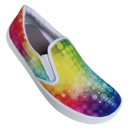 Slip on Anatomic barefoot All in AC01 Rainbow / semelle blanche