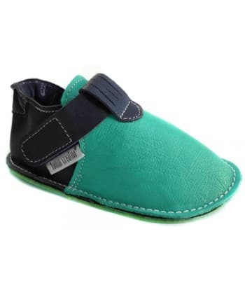 Chaussures Tomar Creation P'tit scratch Turquoise