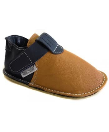 Chaussures Tomar Creation P'tit scratch Camel